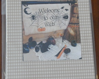 Welcome to Our Web by Rovaris with Bat charm