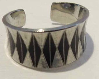 SALE! Unique Danish Jargen Jensen Designed Pewter Ring