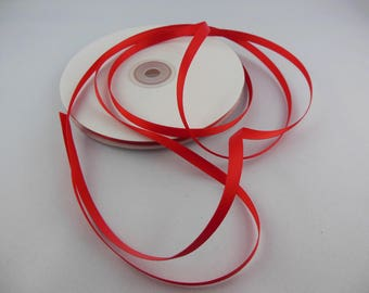 Satin ribbon double sided 6 millimeters