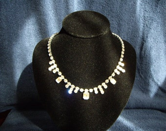 1950'S DIAMANTE NECKLACE