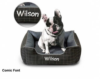 Personalized Easy Clean Dog Bed