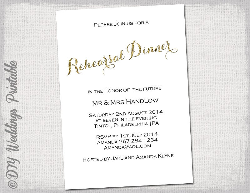 🔎zoom  Free Dinner Invitation Templates Printable