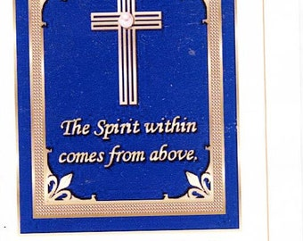 Poetry booklet: The Spirit Within comes From Above by Eva Deroche +1 bookmark bonus