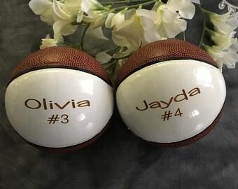 Valentines Day Gift, Gift for Him, Personalized Mini Basketball, Ring Bearer Gift, Groomsman Gift, Wedding Gift