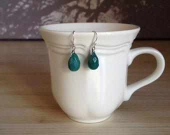Cute Green Dangle Earrings