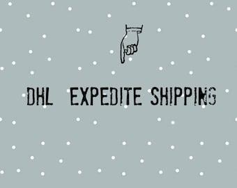 DHL Versand Expedite, Upgrade Versand