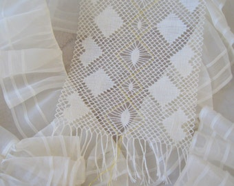 Scarf Lace Bobbin Brief download Instructions scarfs bobbin lace pattern Download Instructions