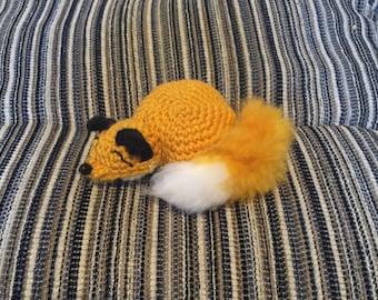 sleeping fox coin purse