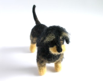 Made to order custom needle felted dog, Wool sculpture, Memorial sculpture, Pet loss, Pet portrait sculpture, Custom dog figurine