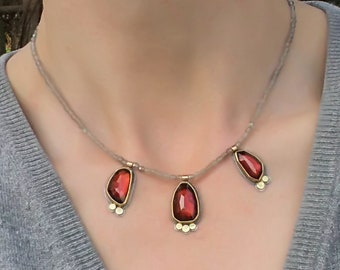 Blood drops - necklace