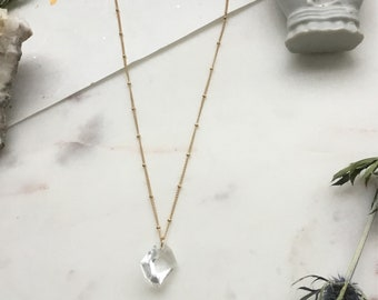 Minimal Crystal Necklace on Satellite Chain