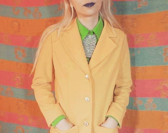 1960s Canary Jackie Suit