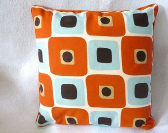 16 x 16 inch pillow cover with zipper closure