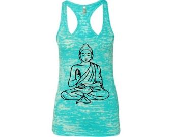 Buddha burnout yoga tank