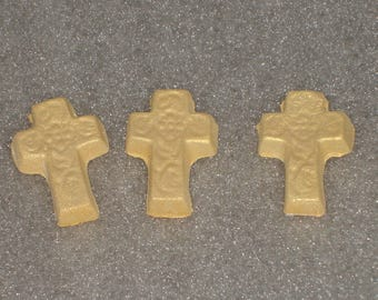Gumpaste Cross Cupcake Toppers