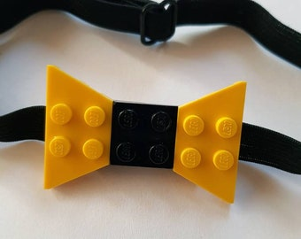 LEGO, Bowtie, Little man, Toddler Bowtie, Yellow, Black