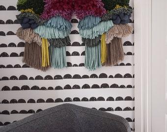 WILD wall hanging (2 piece set)