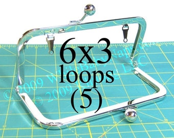 17% OFF 5 Nickel-free 6x3 purse frame(TM) with LOOPS
