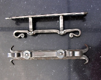Wrought iron door handle