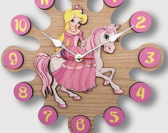 Pendulum Wall Clock Princess