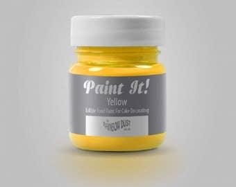 "Painting ""Paint It"" Rainbow Dust - yellow - 25ml"