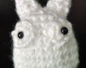 Crochet White Totoro