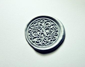 Custom personalize fancy initials wax seal stamp initial wax seals wedding invitation wax sealingparty wax seals