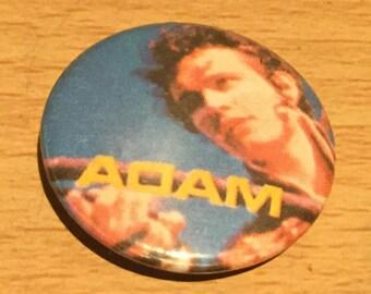 Adam Ant Ant Music Vintage Badge