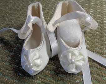 Vintage Doll Shoes- Little Darlings Shoes- Doll Shoes- Ladys Doll Slippers- 48mm x 23mm-Size 1