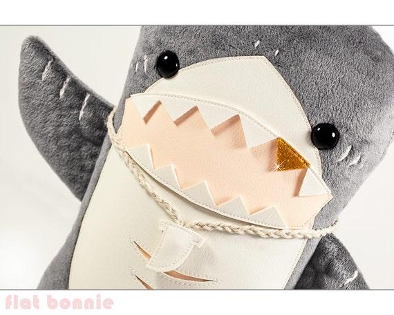 Plüsch Hai Hai Gestopft Tier Niedlich Hai Plüschtier Puppe