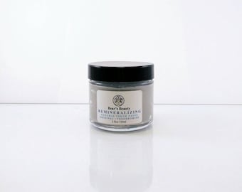 REMINERALIZING TOOTHPASTE | Food-Grade Clays + Himalayan Pink Salt + Coconut Oil | Vegan | Polishes + Whitens + Cleans | Natural Toothpaste