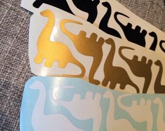 Dinosaur Vinyl Decal, Vinyl Stickers, Dino Laptop Decal, Dino Car Sticker, Laptop Sticker, Car Decal, Dinosaur Sticker, Envelope Seals