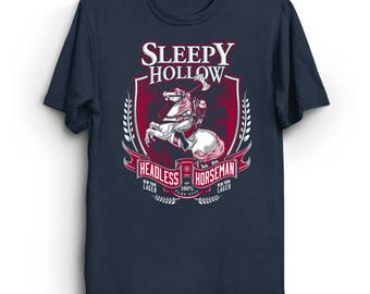 Headless Horseman Ale - Sleepy Hollow T-Shirt | Beer Label T-Shirt