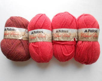 Patons Classic Wool Yarn - various colors