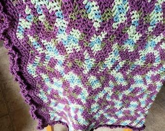 Baby Crochet Afghan Blanket