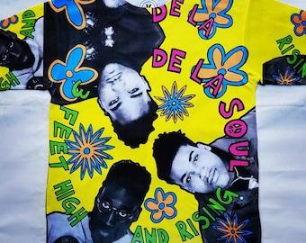 De La Soul 3 feet high and rising sublimation T shirt