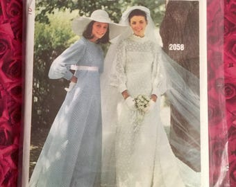 60's Vogue Bridal Sewing Pattern