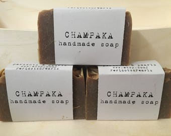 Champaka Cold Processed Handmade Soap