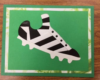 Soccer Cleat All Occasion Card