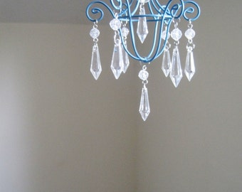 Periwinkle Pixie Car Chandelier MADE TO ORDER