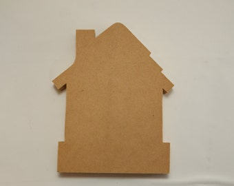 House wood plaque