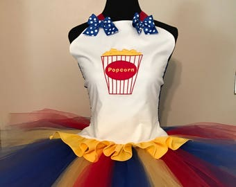 Circus tutu outfit perfect for carnival or circus themed birthdays, photography props, dance costumes, school plays, circus events