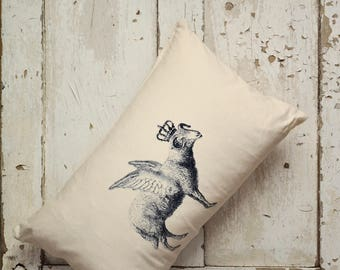 "Cushion Cover -  ""The Royal Collection"" - Flying Sheep"