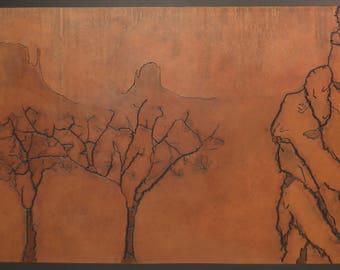 Trees in Sedona