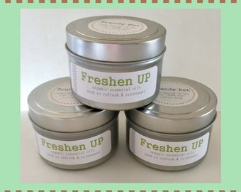 Freshen Up Pet Candle