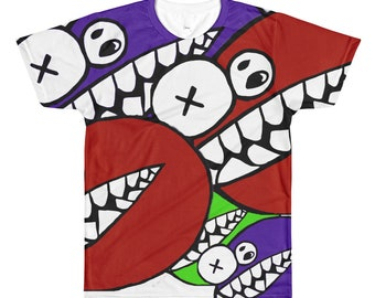 LUIGI All-Over Printed T-Shirt GOOP GROUP