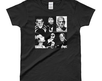 Classic Monsters Ladies' T-shirt