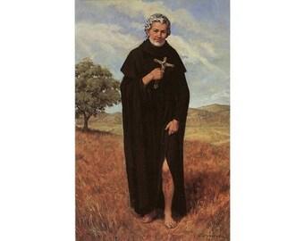 5 St Peregrine Holy Cards - Prayer Cards - Saint Peregrine - Patron Saint of Cancer Sufferers - Cancer Survivors