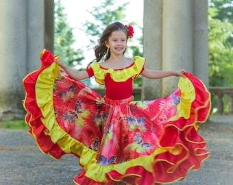 Gypsy dance costume 'Mirela'