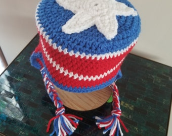 Captain America Shield Hat